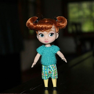 Mini Disney Animator Anna