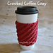 Crooked Coffee Cozy pattern
