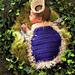 Kings Cape Infant Photo Prop pattern