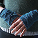 Inverness Diamond Knitted Handwarmers pattern