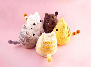 Cute Amigurumi Cats Free Crochet Patterns | Crochet patterns ... | 238x320