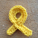Cancer awarness ribbon pattern