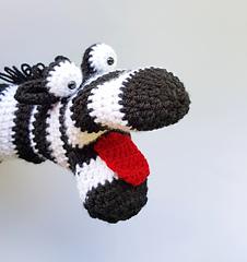 Zebra Hand Puppet