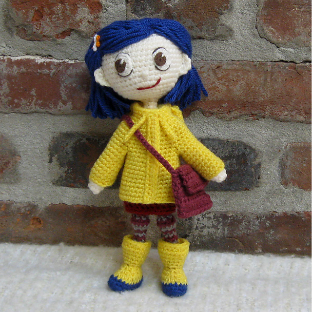 Ravelry Amigurumi Doll Coraline Pattern By Crochet Cute Dolls