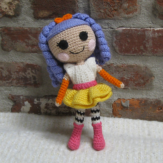 Glittermaid Mermaid Amigurumi Doll | 640x640
