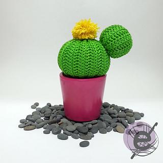 Patrón cactus amigurumi bebé - ¡Patrón super fácil! - YouTube | 320x320