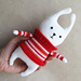 Amigurumi Bunny in Sweater pattern