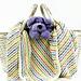Eluma Striped Baby Blanket pattern