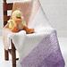 Soft 'n Simple Baby Blanket pattern