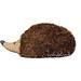 crochet hedgehog in 1 piece pattern