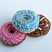 Mini Crochet Donuts pattern