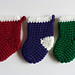 Mini Crochet Stocking pattern