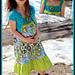 Crochet/Fabric Dress pattern