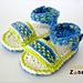 Dreamweaver Bootie Sandals CZ112 pattern