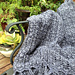 Simple Panel Lace Throw pattern