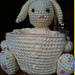 Basket Buddy Bunny pattern