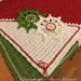 Christmas Tea Placemats pattern