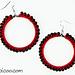 Beaded Hoop Earrings pattern