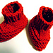 Easy Baby Booties pattern