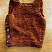 Pebble (Henry's Manly Cobblestone-Inspired Baby Vest) pattern