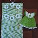 Clothespin  Holder Scrubbie Dress pattern