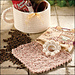 Coffee Cup Gift Basket Set pattern