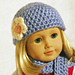 Darling Doll Hat, Crochet Scarf Pattern pattern