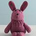 Bouncy Bunny Sock Critter pattern