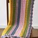 Summer Stripes Baby Afghan (crochet) pattern