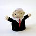 John McCain Finger Puppet pattern