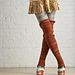 Thigh High Footless Socks pattern