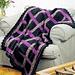 Woven Ribbon Afghan pattern