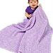 Diagonal Baby Blanket (Crochet) pattern