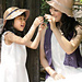amicomo6-4 Mother-daughter Hats pattern