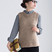 tricot10-4 Crew-neck Vest pattern