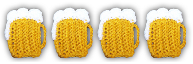 Amigurumi Beer and Lime Slice | Pattern available soon :) | Flickr | 212x640