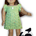 """Dress, Hat, Boots For 18"""" Dolls & Nugget The Pug pattern"""