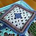 Granny square tea cup coaster pattern