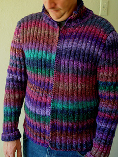 Jack's Noro sweater - finally finished