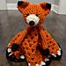 Friendly Fox Blanket Buddy pattern