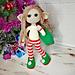 Santa's helper christmas elf pattern