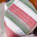 Easy Textured Stripes  Blanket pattern