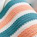Summer Stripes Blanket pattern