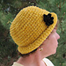Chenille Glam Roll Brim Hat pattern