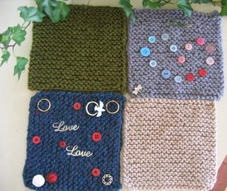 "Ravelry: Blanket Squares (6"" knit"