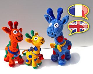 Ravelry: Giraffe Lovey pattern by Kelsey Bieker | 254x320