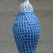 Long Christmas Tree Bauble pattern