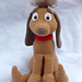 Christmas Thief's dog Max pattern