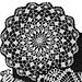 7151 Flower Petals Third Style Doily pattern