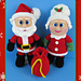Santa and Mrs Clause pattern